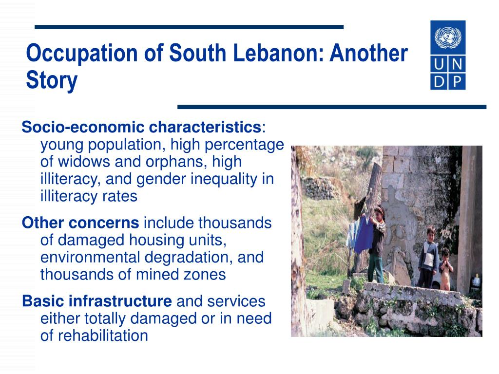 Occupation of South Lebanon: Another  Story