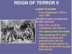 reign of terror ii