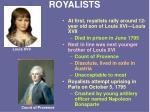 royalists