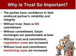 why is trust so important