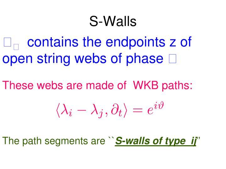 S-Walls