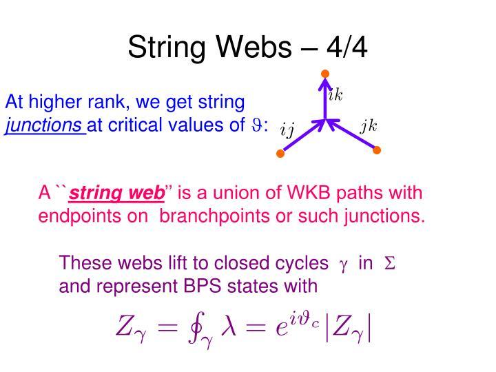 String Webs – 4/4