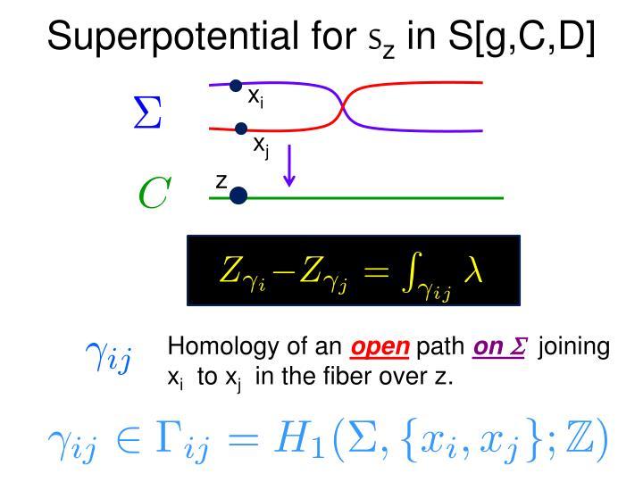 Superpotential