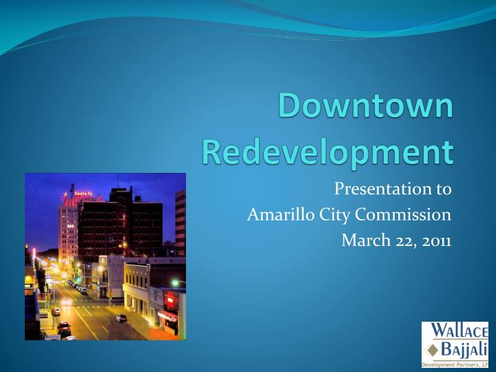 downtown redevelopment n.