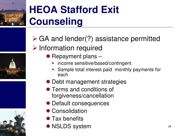 HEOA Stafford Exit Counseling