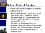 school code of conduct1
