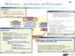 iwbrowser justification and provenance