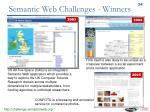 semantic web challenges winners
