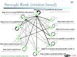 swoogle rank citation based