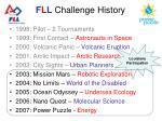 f l l challenge history