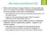 bio heat contribution 2