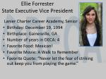ellie forrester state executive vice president
