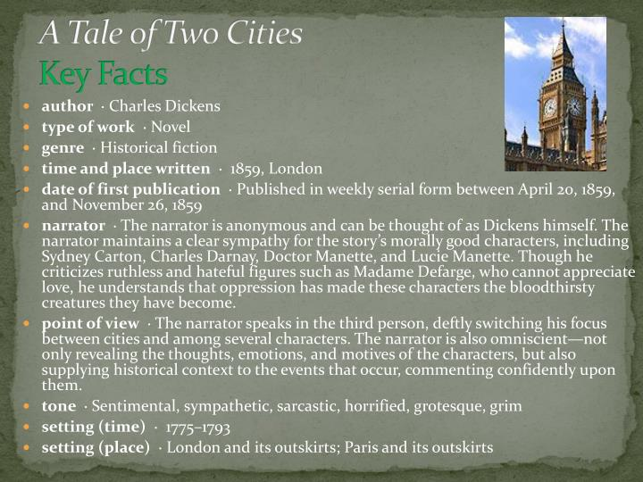 an analysis of freedom in a tale of two cities a novel by charles dickens In the novel a tale of two cities, by charles dickens, the author uses many minor characters although labeled minor, these characters contribute fully, and are essential to the depth and.