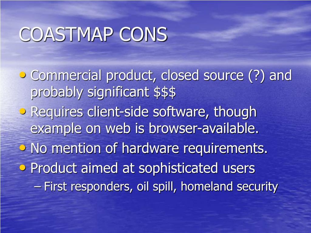 COASTMAP CONS