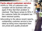 facts about customer service1