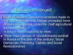 nicholas continued