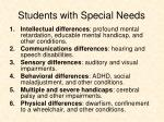 students with special needs1