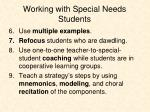 working with special needs students1