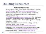 building resources1