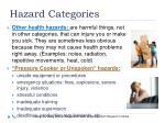hazard categories2