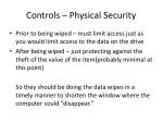 controls physical security1