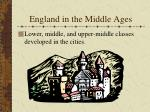 england in the middle ages1