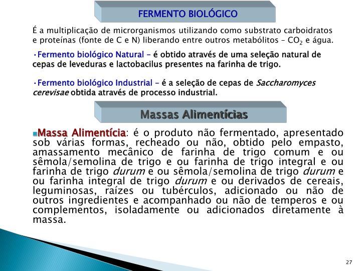 FERMENTO BIOLÓGICO