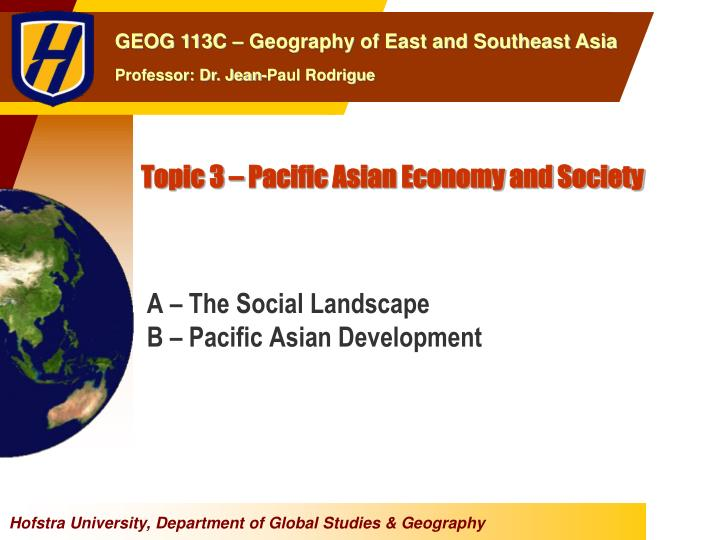 topic 3 pacific asian economy and society n.