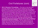 civil forfeitures cont34
