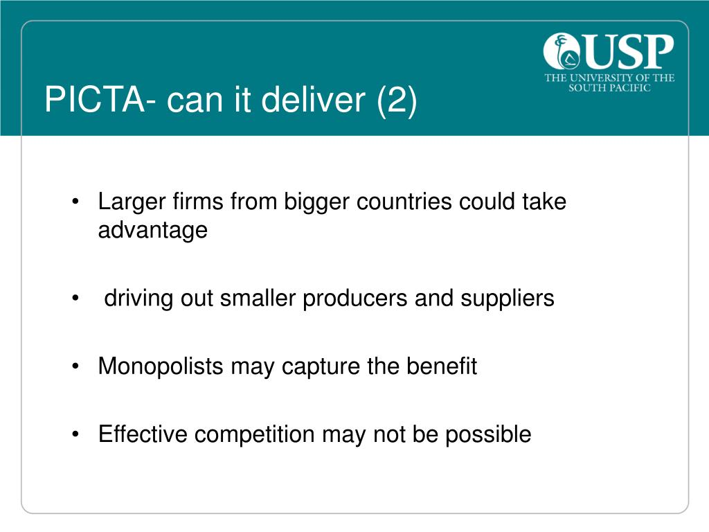 PICTA- can it deliver (2)
