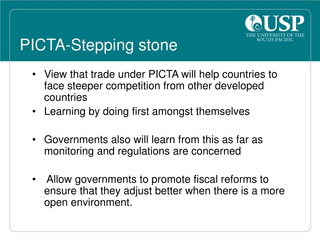 PICTA-Stepping stone
