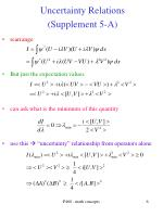 uncertainty relations supplement 5 a1