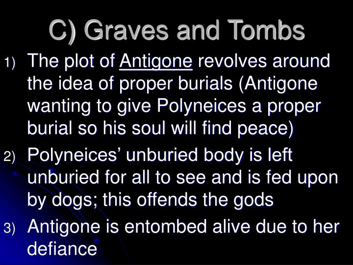 C) Graves and Tombs