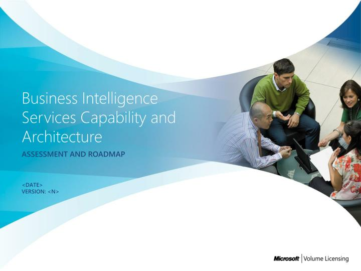 business intelligence services capability and architecture n.