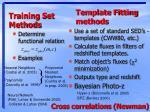 training set methods