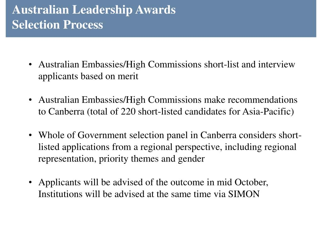 Australian Leadership Awards