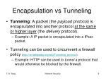 encapsulation vs tunneling1