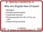 who are eligible non citizens