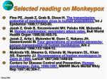 selected reading on monkeypox36