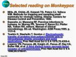 selected reading on monkeypox37