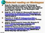 selected reading on monkeypox38