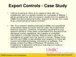 export controls case study1