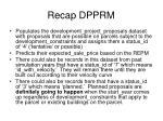 recap dpprm