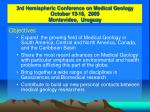 3rd hemispheric conference on medical geology october 13 16 2009 montevideo uruguay4