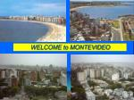 welcome to montevideo