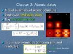 chapter 2 atomic states