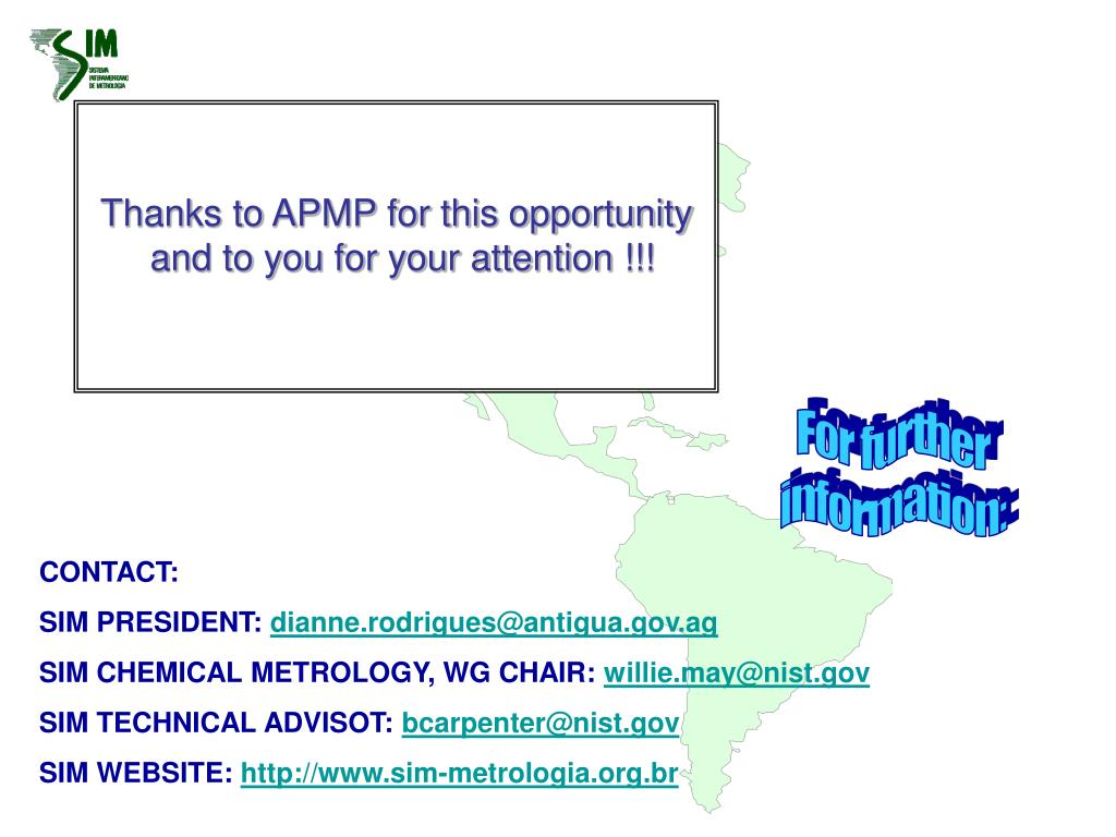 Thanks to APMP for this opportunity