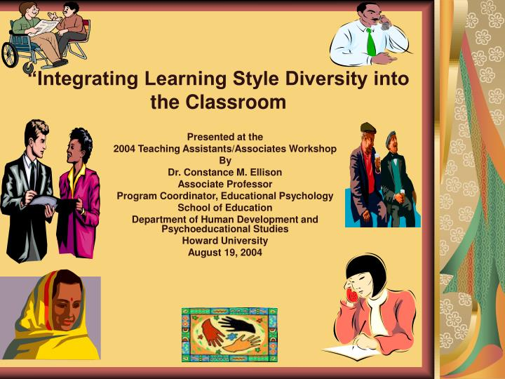 integrating learning style diversity into the classroom n.