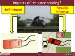 impacts of resource sharing
