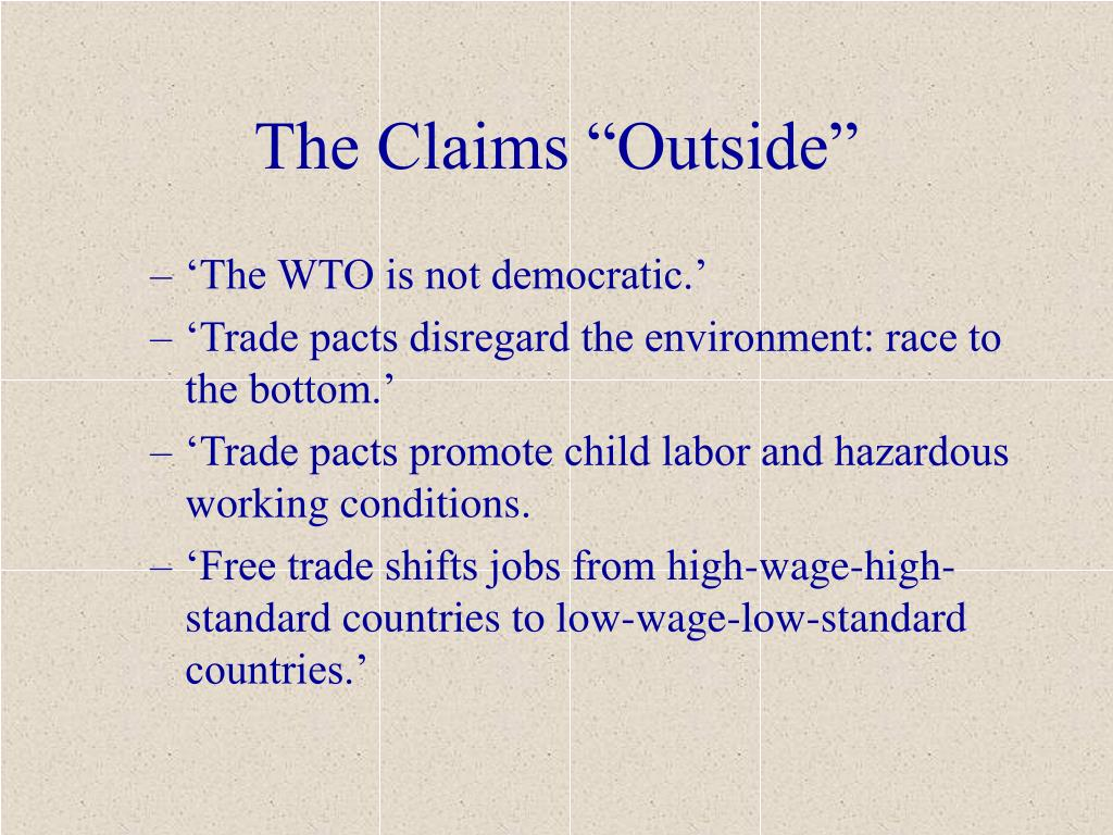 """The Claims """"Outside"""""""
